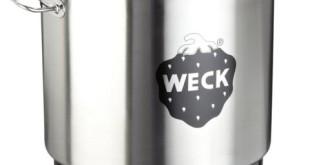 Einkochautomat Weck - Weck WAT 25 Einkochautomat Edelstahl Zeitschaltuhr